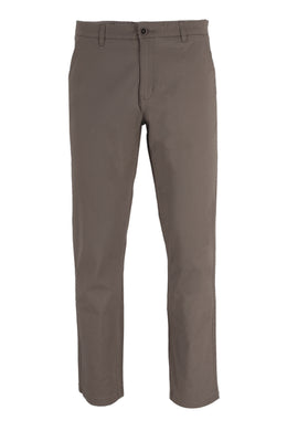 Washed Taupe Ike By Ike Behar Stretch Cotton Chino Pants