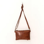 monterey cross body bag juju & co cognac