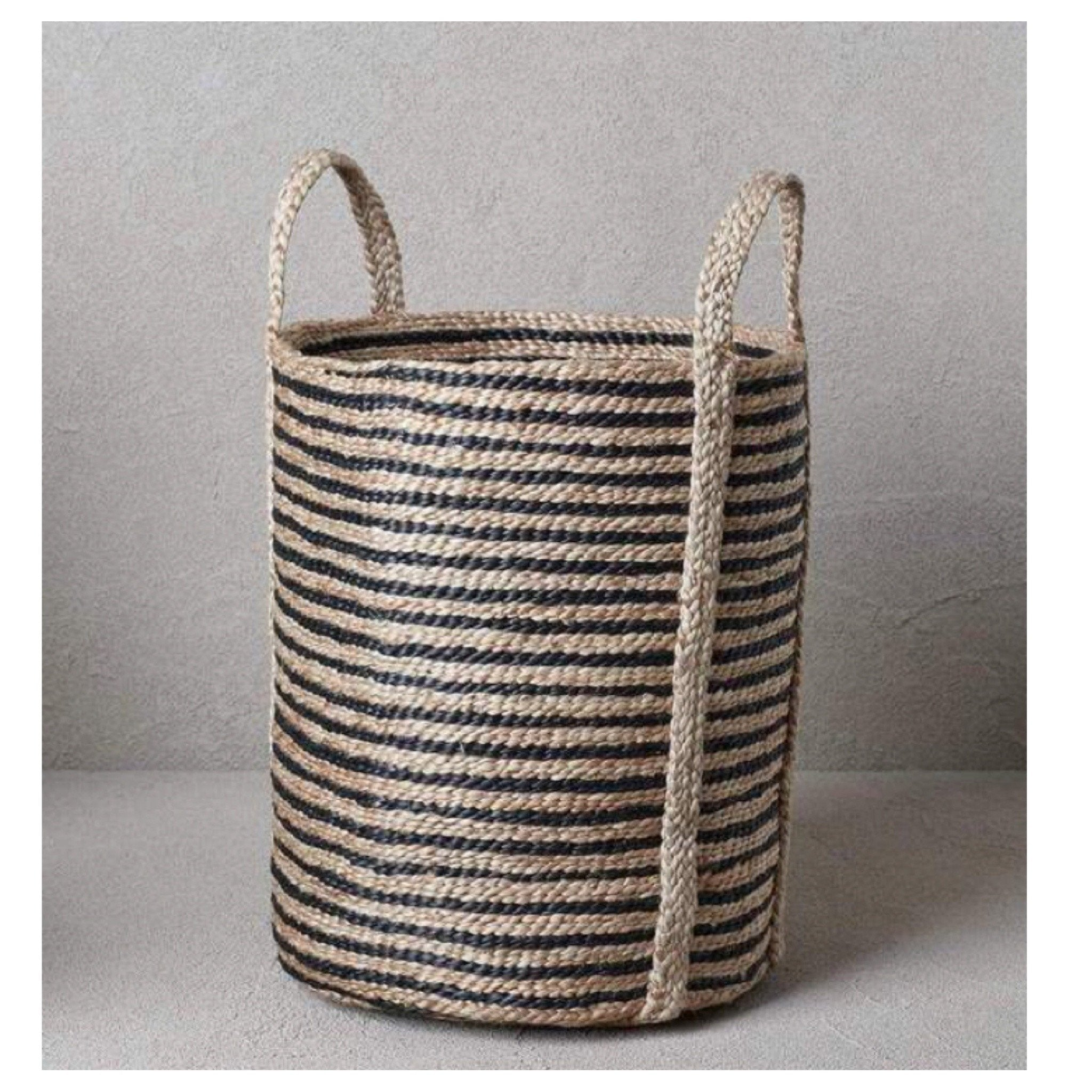 jute laundry basket the dharma door