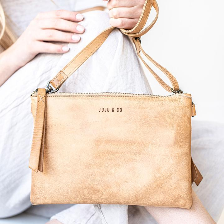 monterey cross body bag juju & co natural
