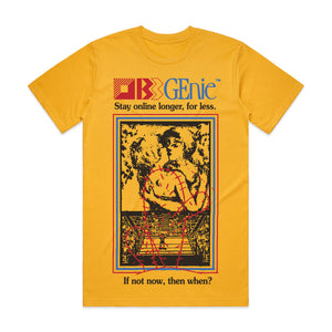 BB GEnie T-Shirt (Yellow)