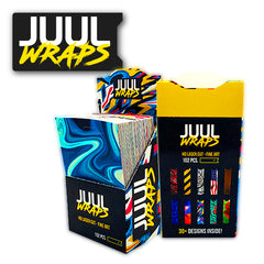 Juul Wraps with Display Set - 102pc
