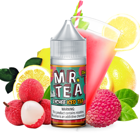 Mr. Tea - Lychee Iced Tea Salt 30mL