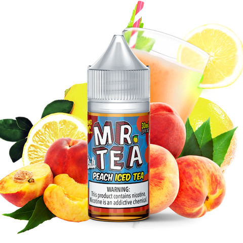 Mr. Tea - Peach Iced Tea Salt 30mL