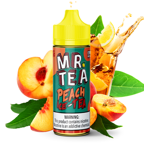 Peach Iced Tea 120mL
