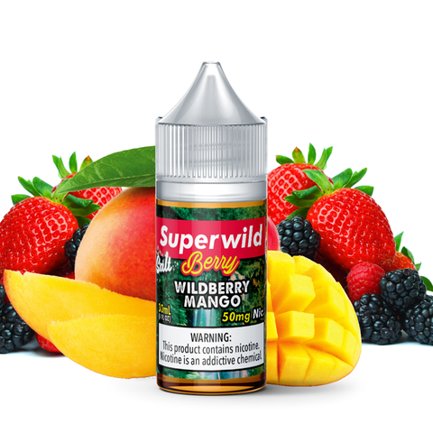 Superwild Berry Mango Salt 30mL