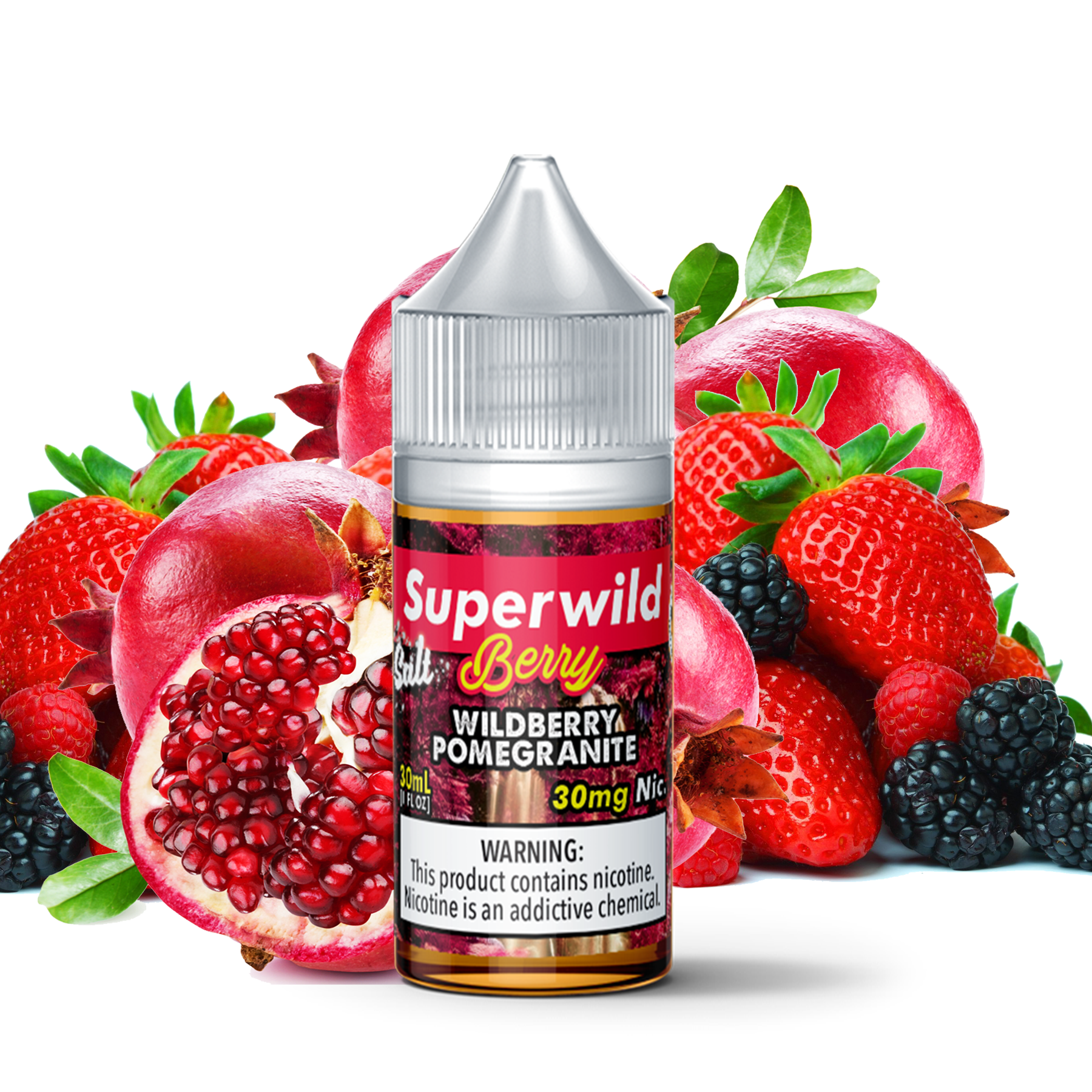 Superwild Berry Pomegranate Salt 30mL
