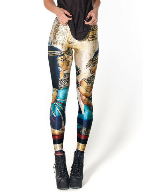 The Mystery of the Pyramid - Leggings - Womens