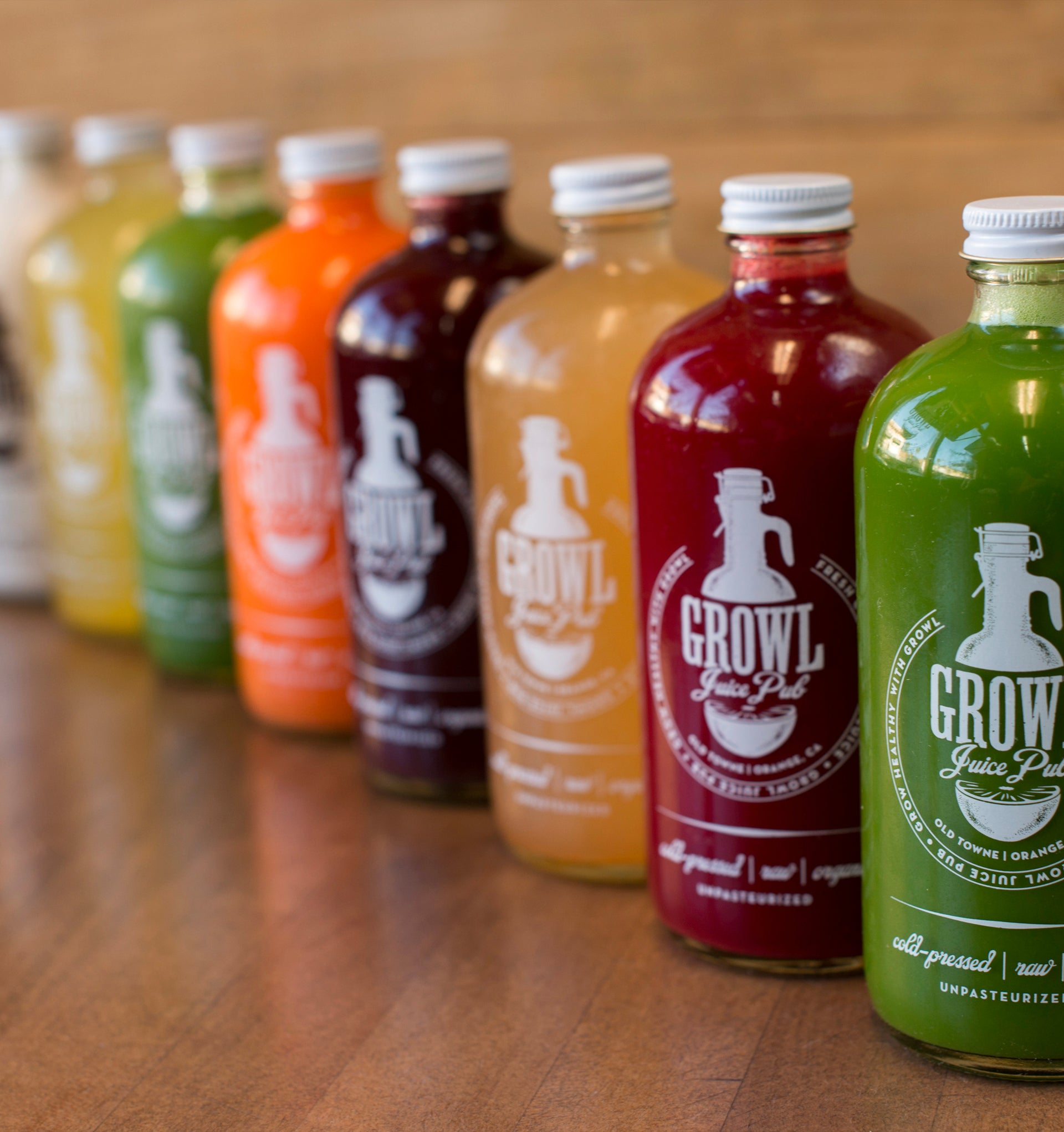 The Growl  (8 Bottle Detox Cleanse)