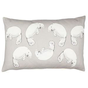 dugong printed cushion made in Melbourne
