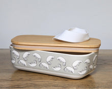 Bamboo lunch box with Dugong Print