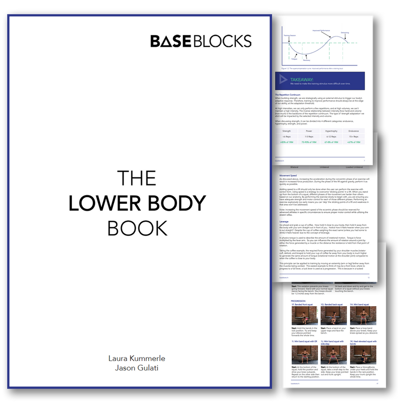 THE LOWER BODY BOOK