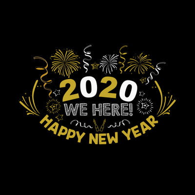 Happy New Year We Here 2020 T-Shirts
