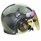 3M Headset Carbon Fiber Paramotor helmet with noise cancelling headset free shipping CR-GD-C02