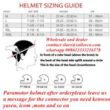 EN966 standard Noise cancelling  paramotor helmet GD-G factory free shipping