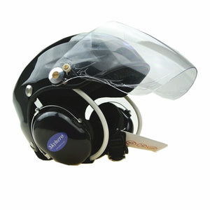 GD-G01R  Paramotor helmet Helmet + noise cancel earcup could add SENA by yourself