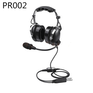Aviation Headsets With Comfortable Ear Seals PNR Nosic Cancelling GA Dual Plug Black PR002 aviation headsets for pilots