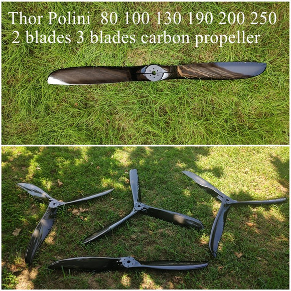 polini 80 100 130  190 200  250 light 115cm 125cm 150cm paramotor carbon propeller best quality