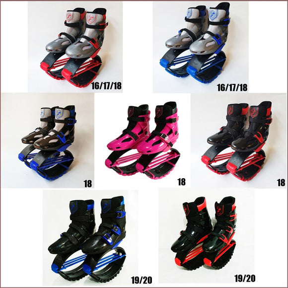 Unisex Fitness Jumping Shoes Rebound Bounce Toning Shoes  Jumping Boots Bounce Shoes