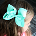 4 Inch Hair Bows on Alligator Clips
