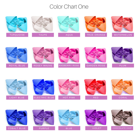 "30 Pack of 6"" Hair Bows"