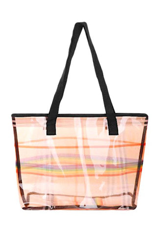 CHECK CLEAR SQUARE  BAG(AO8046) <Bundle>