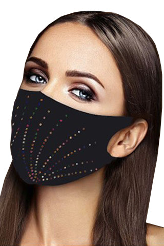FASHION MASK-CRYSTAL STONE(M1031) <Bundle>