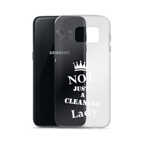 NJACL Clear/White Samsung Case