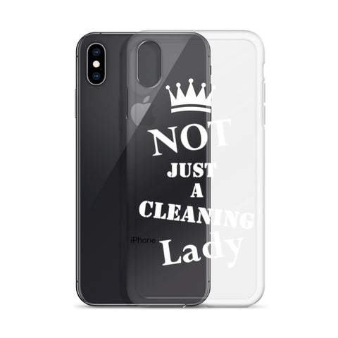 NJACL Clear/White iPhone Case