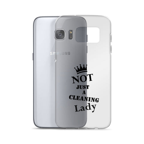 NJACL Clear/Black Samsung Case
