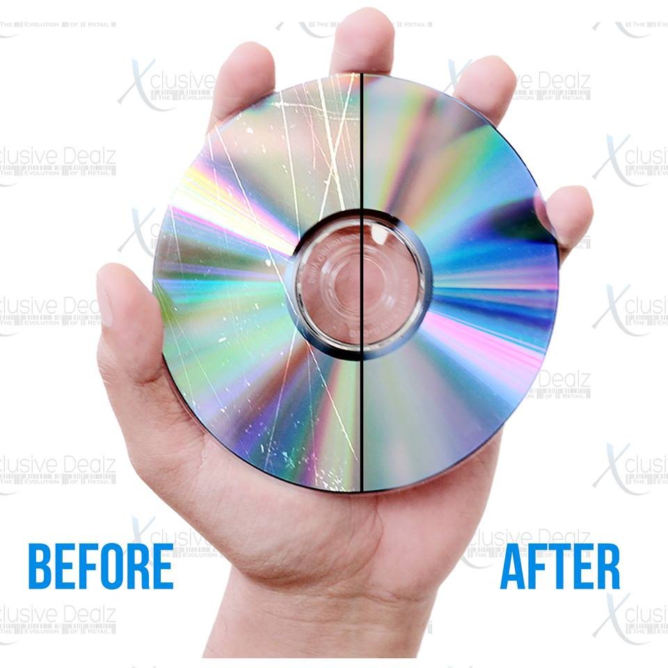 Professional Mail-In Disc Repair Service for Video Games, CDs, DVDs & Blu-rays - Flyer Promo Disc Repair Service Xclusive Dealz  - Xclusive Dealz