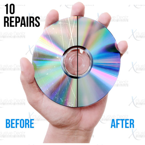 (10) Professional Disc Repairs For Any Video Game, CD, DVD, or Blu-ray
