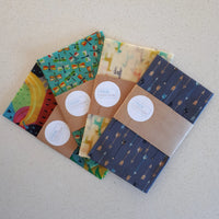 Dragonfly Extra Large Single Beeswax Food Wrap