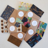 Giraffes Mixed Set of 3 Beeswax Food Wraps