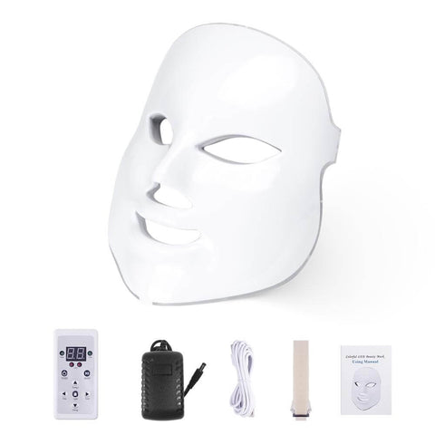 Professional LED Facial Mask - Light Therapy Mask