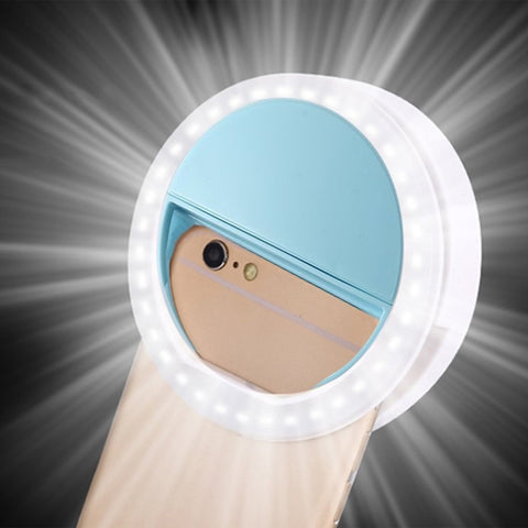 Clip-On Universal Selfie Phone Light