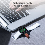 Qi USB Portable Wireless Charger For Apple Watch