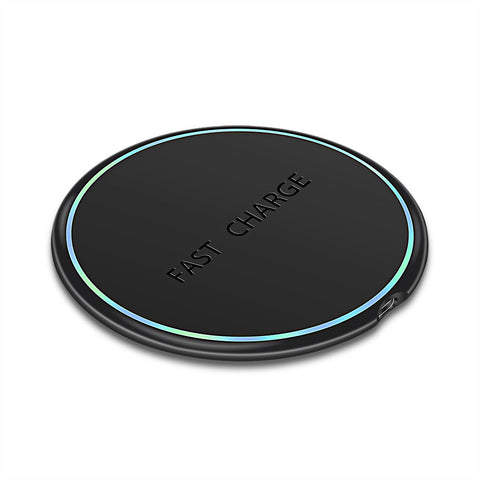 LED Light 10W Smartphone Wireless Charger