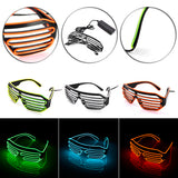 LED Striped Lightning Sunglass