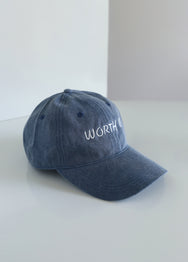 WORTH IT CAP - DENIM