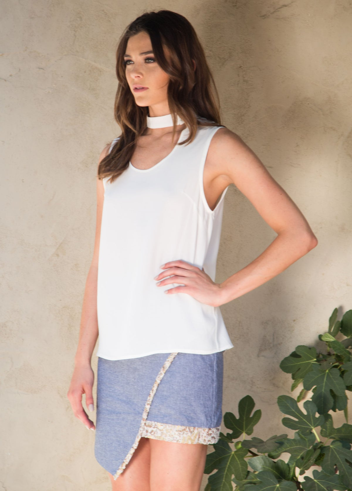 JULIANA BLOUSE - WHITE