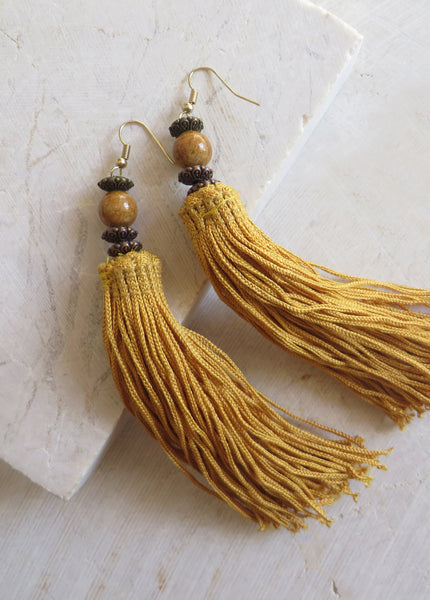 CATALUNA TASSEL EARRINGS