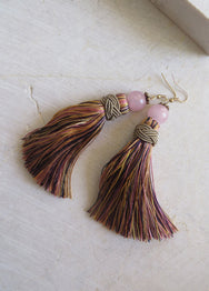 SANGRIA TASSEL EARRINGS