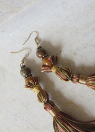 SEGOVIA TASSEL EARRINGS