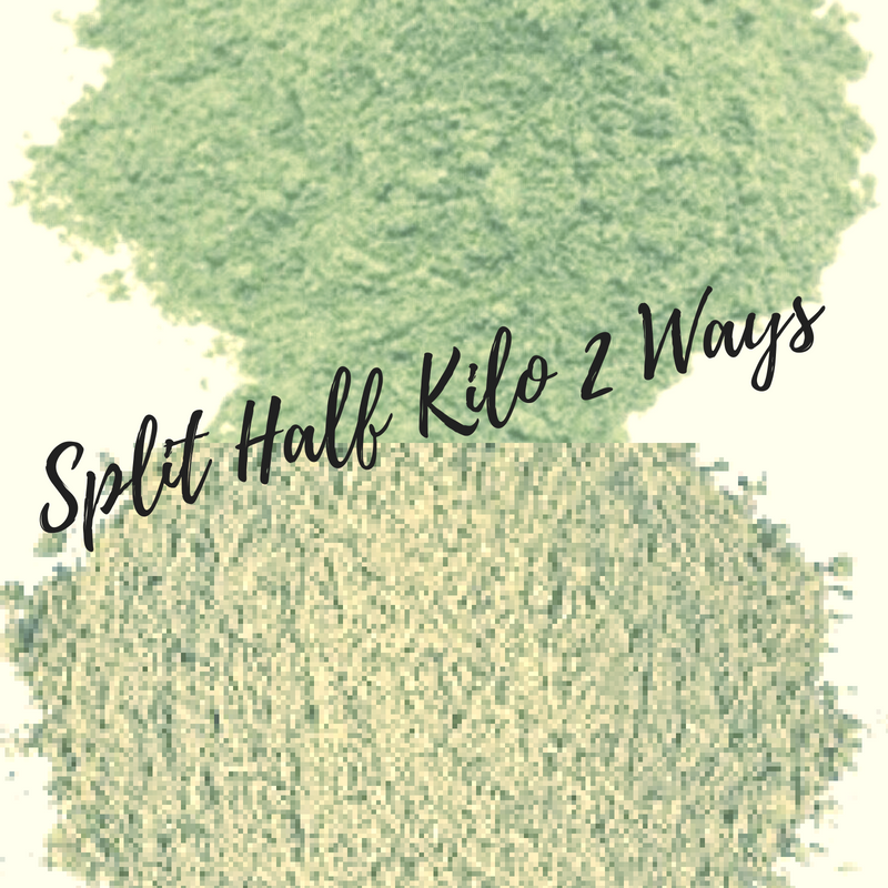Texas Hebs and Botanicals - Split Half Kilo 2 Ways