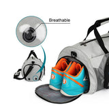Waterproof Fitness Bag With independent Shoes Storage