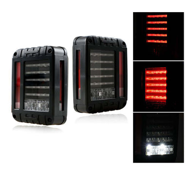 LED Tail Lights - Jeep Wrangler JK