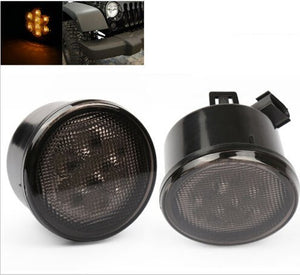 LED JK Turn Signals -Smoke
