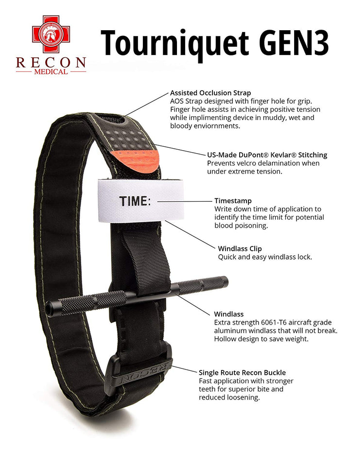 RECON Medical Gen 3 Tourniquet