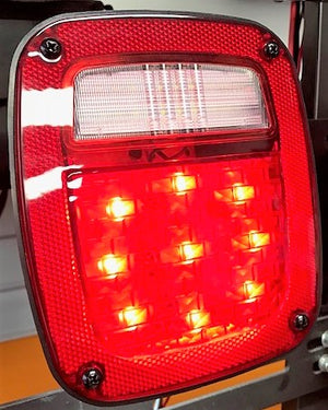 LED Tail Lights - TJ CJ YJ